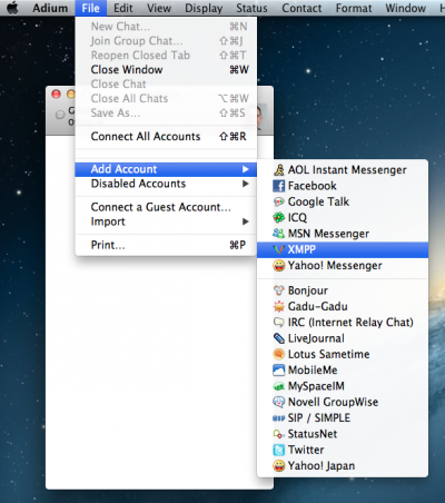 Setting up Adium tutorial for Apple Mac OS X [SureVoIP Support]