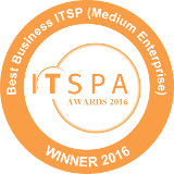 Best Business ITSP (Medium Enterprise) Winner 2016